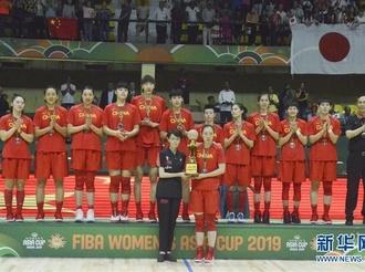 女篮亚洲杯:中国队获得亚军
