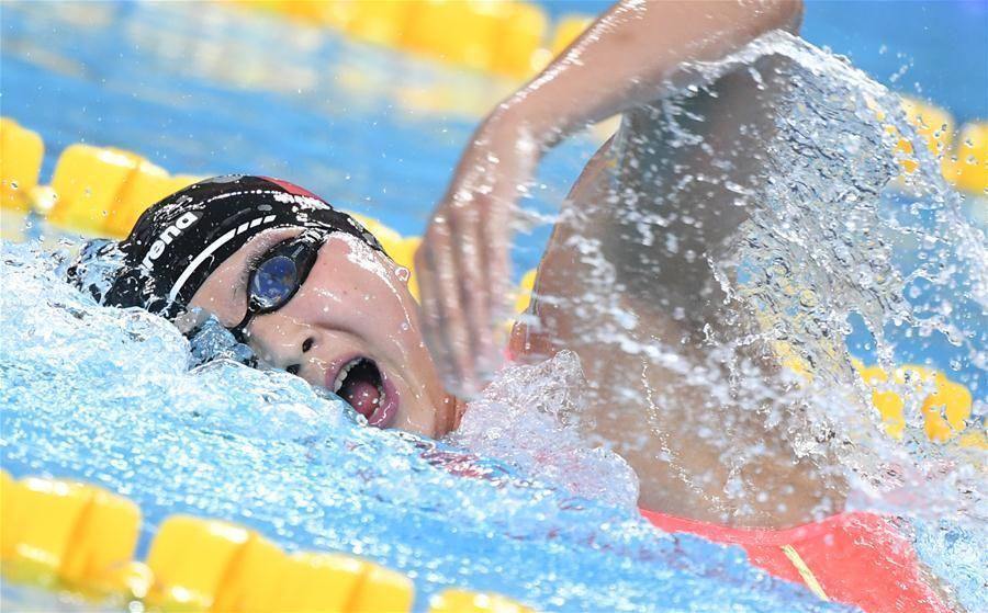 军运会游泳比赛第3日:中国军团再添7金