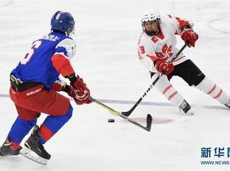 北京2022冬奥会男子冰球资格赛:中国香港胜科威特