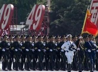 为什么三军仪仗队中都是陆军拿国旗?