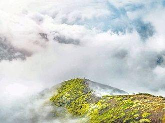 萬榮孤峰云海美上云端