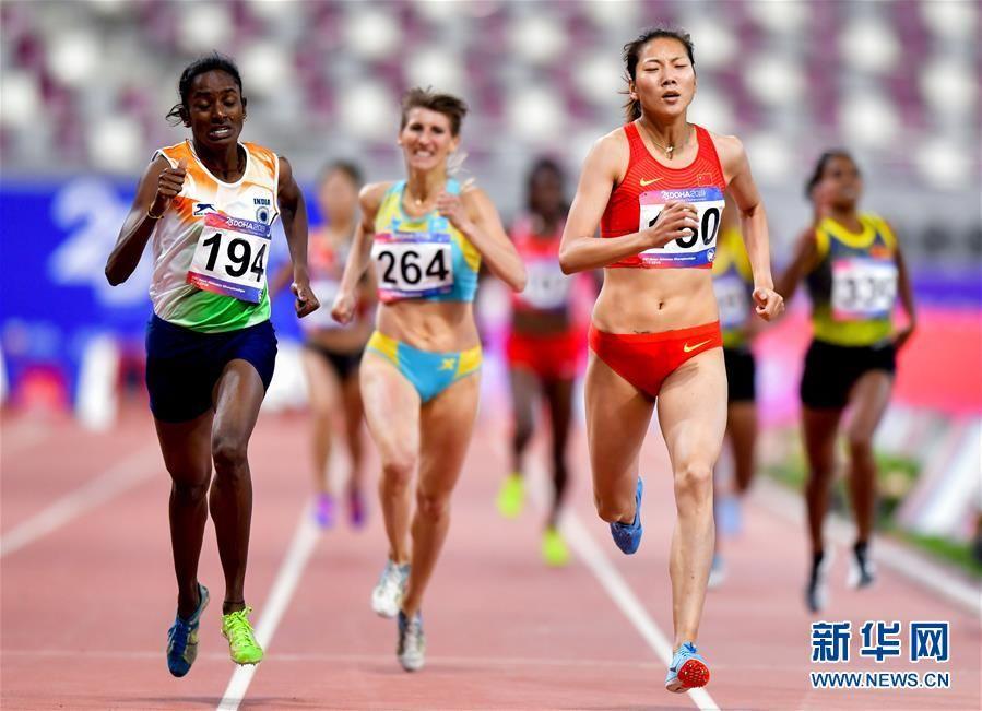 多哈亚锦赛:王春雨获得女子800米亚军