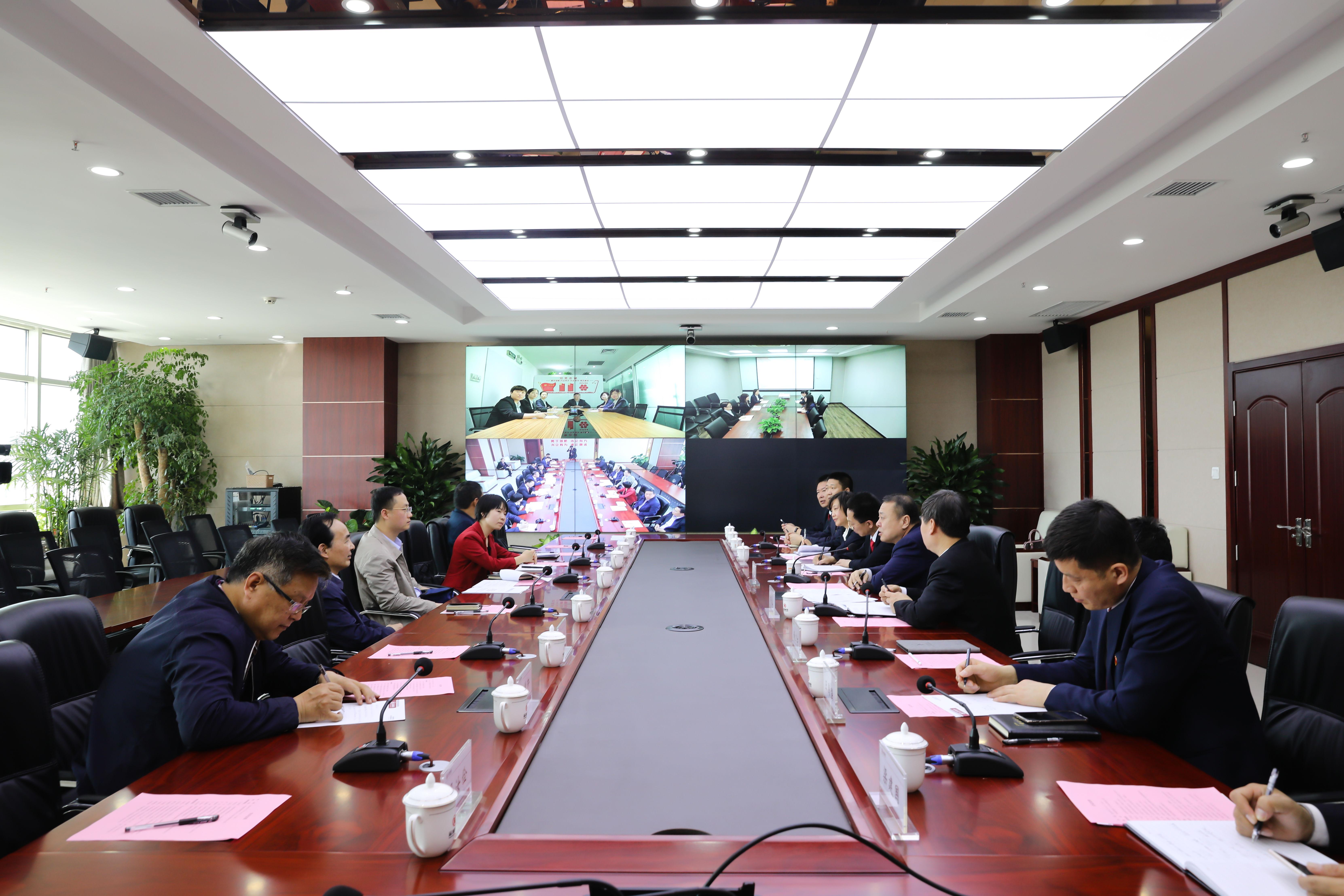 """省委组织部深入运城城投集团公司调研 指导""""三基建设""""工作"""