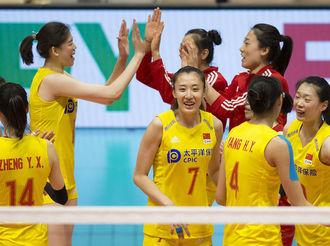 瑞士女排精英賽:中國隊勝德國隊