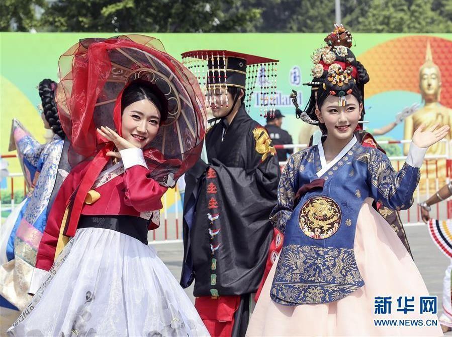 亞洲文明巡游活動在京舉行