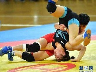 """2019年""""迁安杯""""全国国际式摔跤锦标赛拉开战幕"""