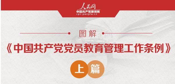 圖說黨建系列  圖解:《中國共產黨黨員教育管理工作條例》上篇