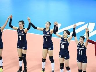 世界女排聯賽寧波北侖站:中國女排三戰全勝奪冠