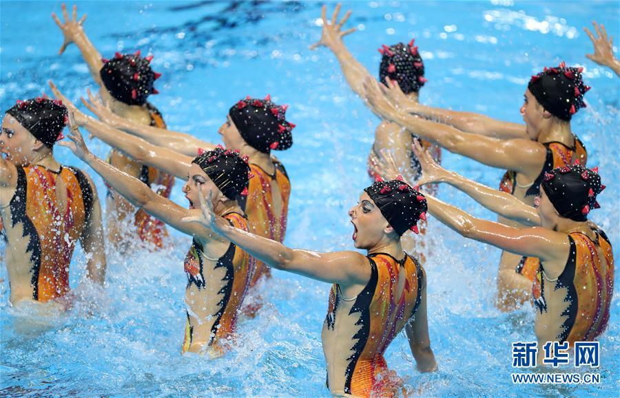 (游泳世锦赛)(6)花样游泳——女子集体托举决赛赛况