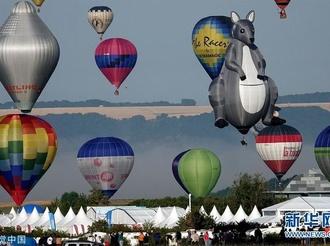 法国热气球节持续举行