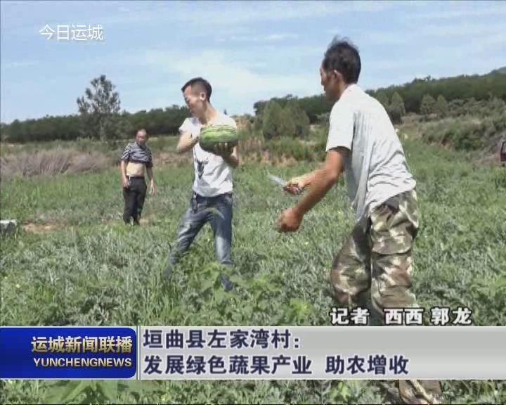 垣曲县左家湾村:发展绿色蔬果产业 助农增收