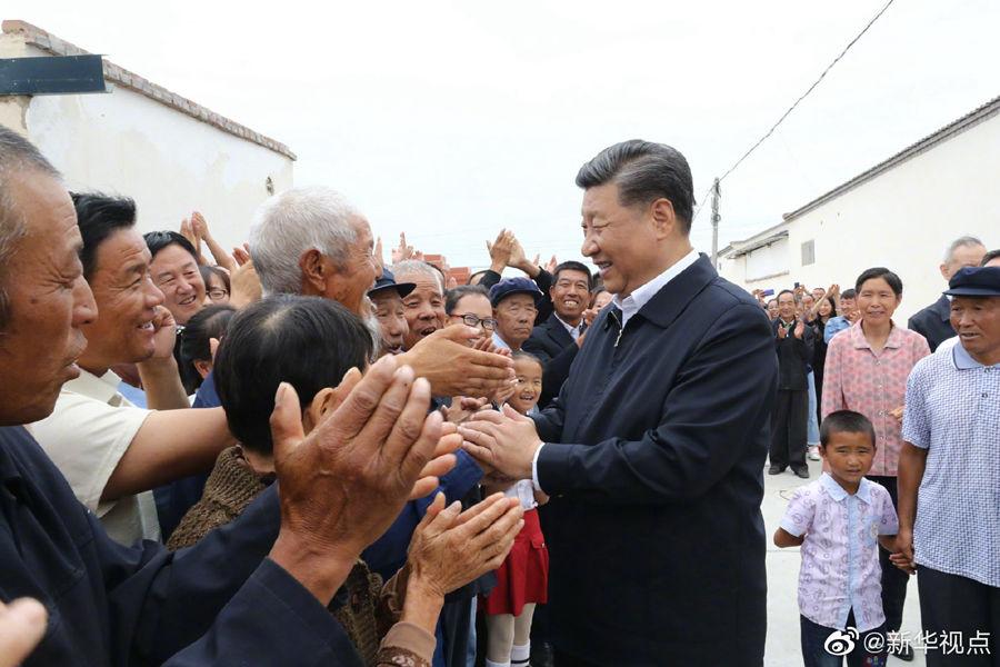 习近平:老百姓的幸福就是共产党的事业