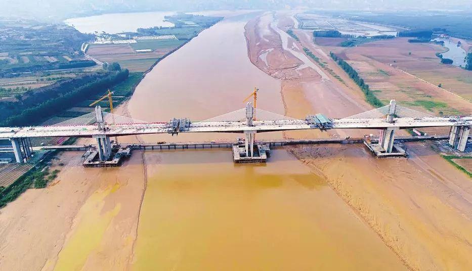 运宝黄河大桥正式通车 全长1690米 设计时速80公里