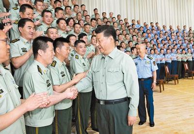 习近平在视察空军某基地时强调:牢记初心使命 提高打赢能力 以优异成绩庆祝新中国成立70周年