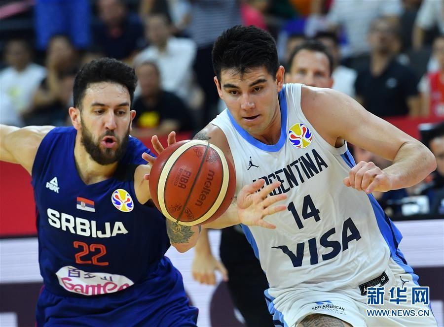 篮球世界杯四分之一决赛:阿根廷队晋级半决赛