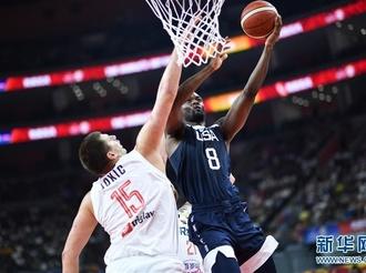 篮球世界杯5至8名排位赛:塞尔维亚队胜美国队
