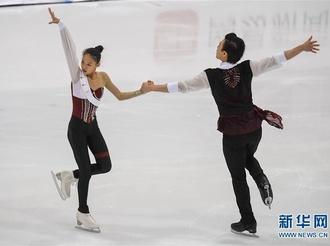 花样滑冰全国锦标赛第二日赛况