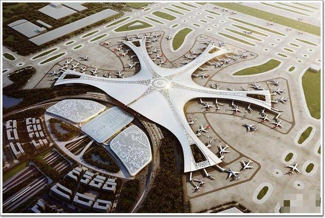 """大兴国际机场:""""中国速度""""建造北京新地标"""