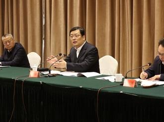 丁小强在全市金融工作座谈会上强调:为高质量转型发展提供坚实的金融支撑