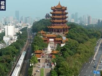 武汉这场快闪特别燃!致敬英雄城市 致敬我的祖国!
