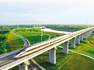 坐著高鐵看中國|京滬高鐵4小時 帶你看遍中國經濟新風景