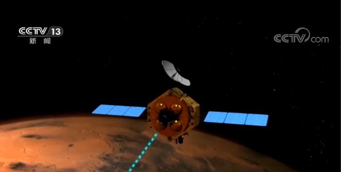 天問一號火星探測器飛行里程突破3億千米