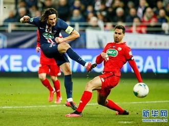 法国杯:巴黎圣日耳曼晋级四强