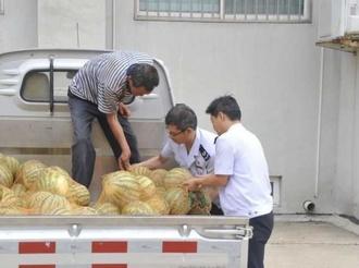 夏县税务局:消费扶贫  暖心助力
