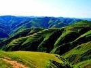 绘在黄土高原上的彩带