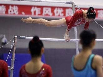 中国体操女队测验 难新动作数量创新高