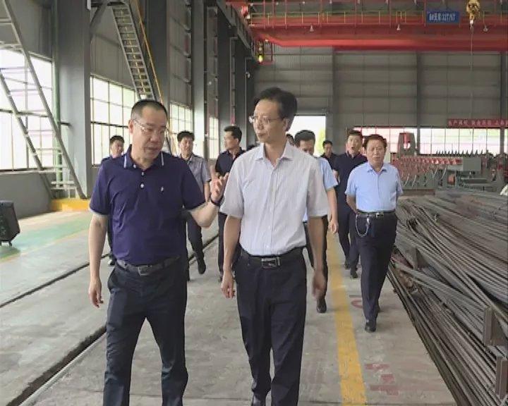 史玉江深入山西建龙现场办公时强调:坚持转型为纲 打造千亿级钢铁产业集群