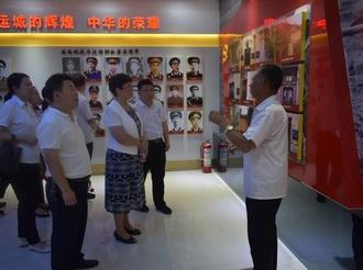 运城市档案馆赴陈家庄红色教育基地开展主题党日活动