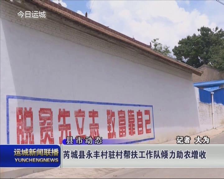 芮城县永丰村驻村帮扶工作队倾力助农增收