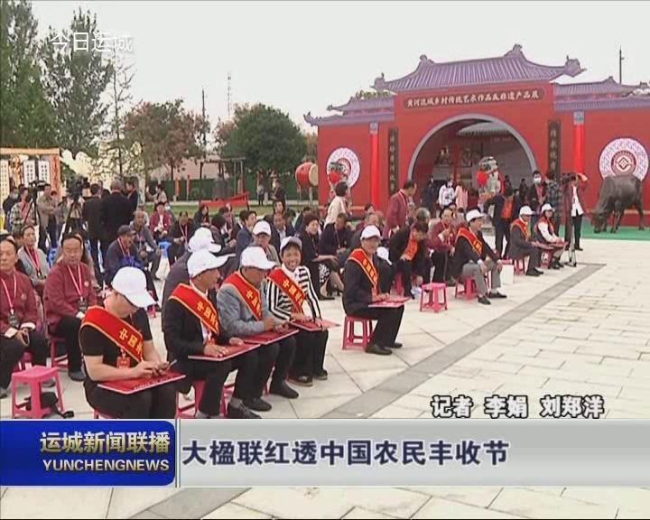 【喜慶2020中國農民豐收節】大楹聯紅透中國農民豐收節