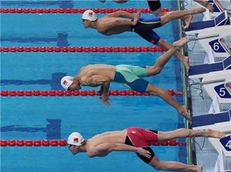 全国游泳冠军赛:余贺新预赛打破男子50米自由泳全国纪录却无缘决赛