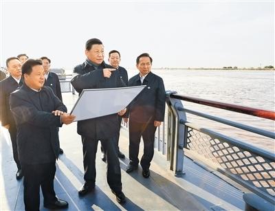 習近平:咬定目標腳踏實地埋頭苦干久久為功 為黃河永遠造福中華民族而不懈奮斗