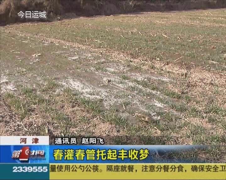 河津市:春灌春管托起豐收夢