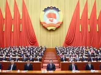 全國政協十三屆四次會議在京開幕 習近平等到會祝賀